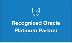Recognized Oracle Platinum Partner